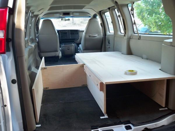 Van Living Sleeping In Your Van Bed